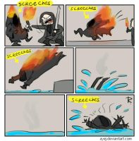 The Lord of the Rings, doodles 2 by Ayej