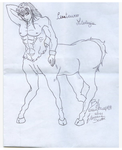 Centaur unfinished by anemchan41191