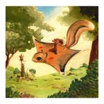 flying squirrel by smmiller09