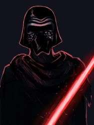 Kylo Ren by Mustang-sauvage
