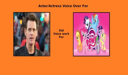 Jim Carrey voice over for MLP FIM by cartoonfan22
