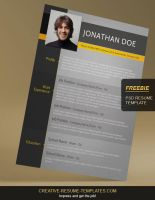 free resume cv template download by rabbe007 on deviantart