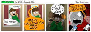 EWCOMIC No. 239 - Cobweb John by eddsworld