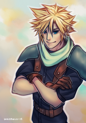 Cloud Strife by whispwill