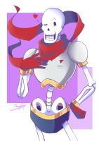 Undertale: Papyrus by Thanysa