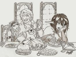 Dinner with the High Elves by Shabazik
