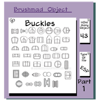 Buckles Part 1 Illustration fashion object stock by brushmad
