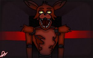 Foxy-FNAF by Elliot-Baskerville