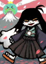 New Year of Japan style Klonoa by aru0