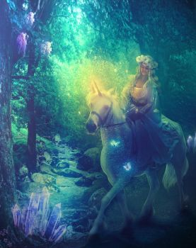 Enchanted Forest by MariLucia