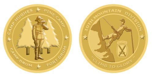 Commission - Challenge Coin by MauserGirl