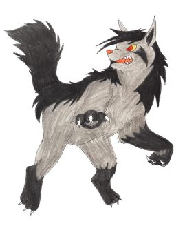 AT - Mightyena by Cittykat17597
