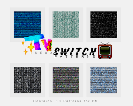 + TV Switch Patterns |10| by natieditions00