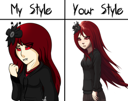 My Style Vs Your Style (Take 2) by Schepper