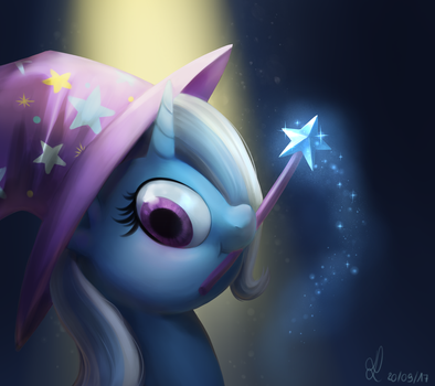 Trixie's magic ! by DivLight