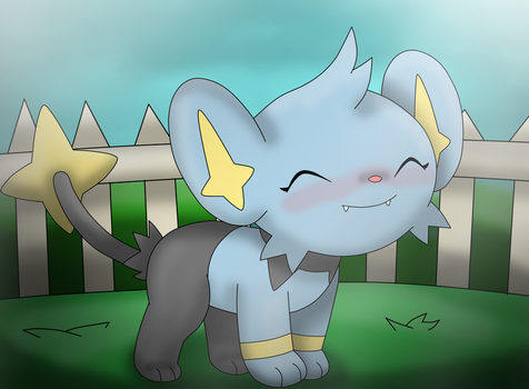 A Cute Little Shinx by Charly-sparks