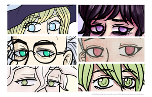 Eyesss by Chibiklompen