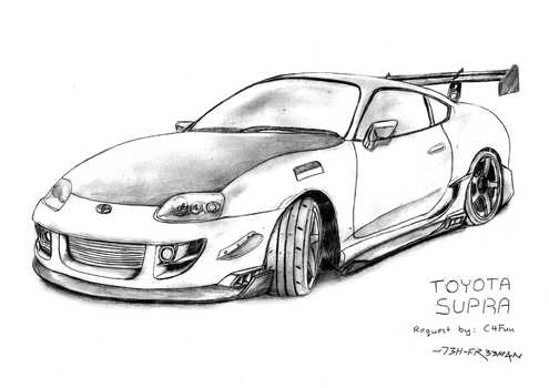 Request: Toyota Supra by 73H-FR33M4N