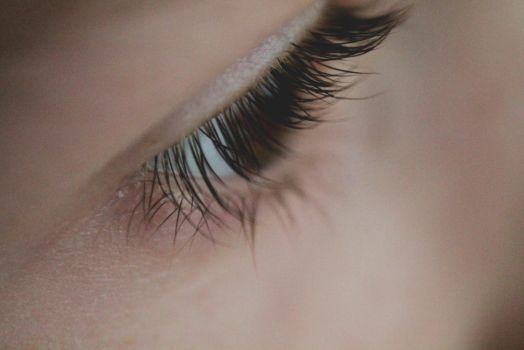 My brother's eye by rainylotte