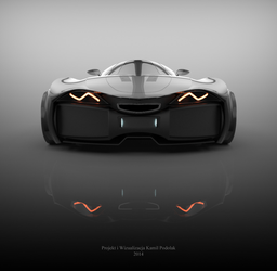 Concept car Detail by Kamil1003