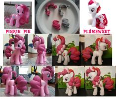 Pinkie Pie and Plumsweet Customs by nanook123