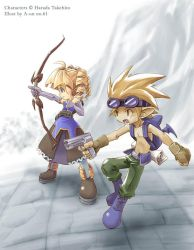 Ranger and Archer - DisGaea by aun61