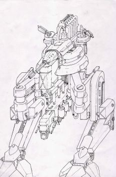 Mech by TheXIII