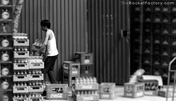 Moving the coke by frankrizzo
