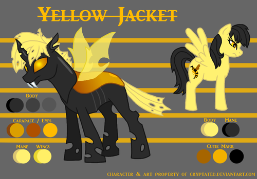 Yellow Jacket Reference (2018) by cryptated