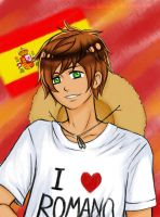 Spain loves Romano by Ambbey