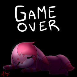 Game Over by MimiTheFox