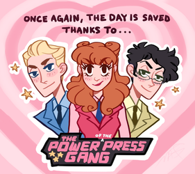 Power of the Press Gang by CrystallizedTwilight