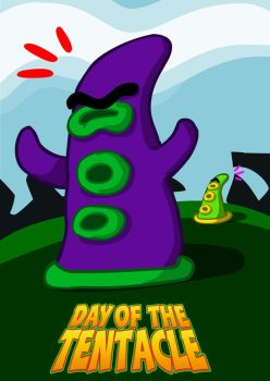 Day of the Tentacle by Gaya-D