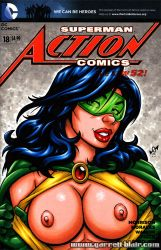 Naughty Phantom Lady bust sketch cover by gb2k