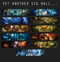 Yet another sig wall.. by Uberkayt