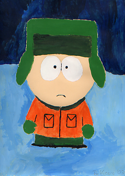 Kyle from South Park by DarkMatterEchidna