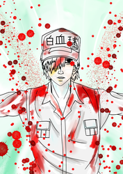 Cells At Work - White Blood Cell by ric-c