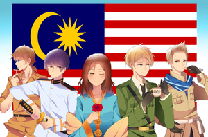 Happy Independence day, Malaysia! by Otromeru