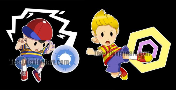 Smash Stickers: Earthbound by Tee-J