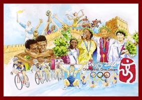 Beijing 2008 Olympics by amade