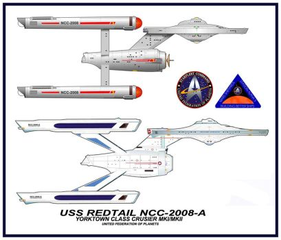 USS Redtail NCC-2008-A by SR71ABCD