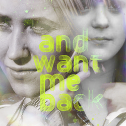 Want me back - A diptych by feedyoulight