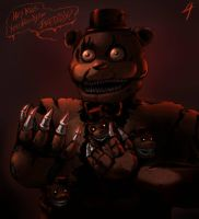 FNAF - N.I.G.H.T.M.A.R.E. by Atlas-White