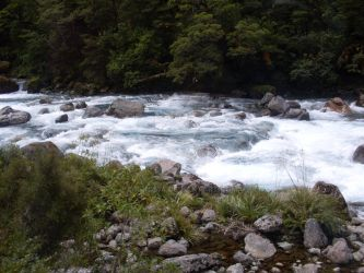 Another NZ waterfall. by Ponie24