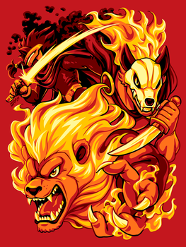 Rivals of Aether - FIRE by Kaigetsudo