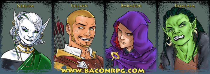 The Bacon Battalion by sean-izaakse