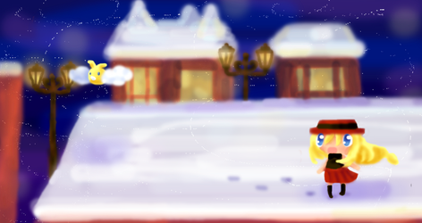 Snowbelle City by kittystar123