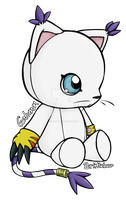 Gatomon plushie by Brittlebear