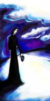 Severus Snape as a Deatheater by iscalox