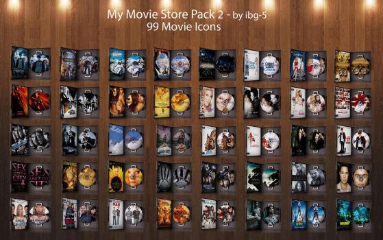 My Movie Store DVDs Pack 2 by ibg-5